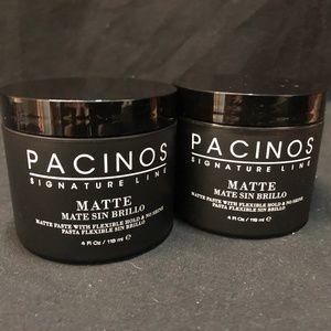 (2) Pacinos Signature Line Matte Hair Paste